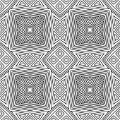 seamless vector pattern. geometric wallpaper