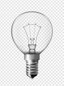 Light bulb for bedside lamp