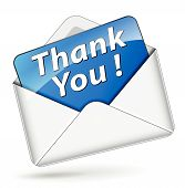 Vector Thank You Icon
