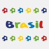 vector illustration brasil