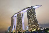 Contemporary architecture Marina Bay Sands Singapore
