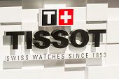 Tissot Watches Shop Window Display