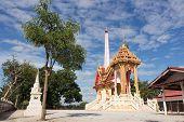 crematory at Wat Kum Tae
