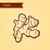 Retro ginger