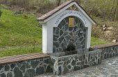 Spring water fountain at Praveshki monastery