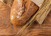 Bread And Ears Of Wheat