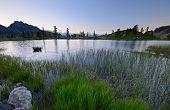 High Altitude Alpine Lake
