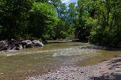 Stream In A Ravine