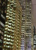 Part Of Modern Buildings In Toronto
