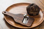 delicacy mushroom black truffle