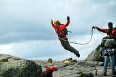 Rope jumping