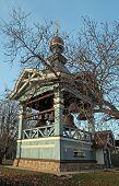 Wooden Orthodox Bell Tower, Kiev