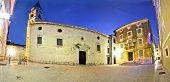 Stone Mediterranean Square In Zadar