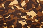 stock photo of camouflage  - A green military texture camouflage for background - JPG