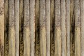Walls Of The Old Wooden Fence.