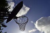 Basketball Hoop Silhouette