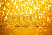 2015 New years glitter background