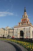 Kazan railway station in Moscow