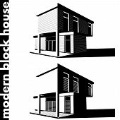 Modern Block House
