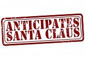 Anticipates Santa Claus Stamp
