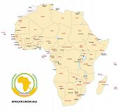 Africa (African Union) Map