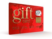 Gift Credit Card (clipping path included)