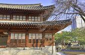 Deoksugung Palace in Downtown Seoul, Korea