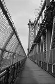 Manhattan Bridge Walkway