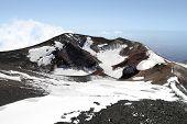Volcano Mount Etna Crater