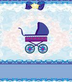Baby Shower Card, For Baby Boy