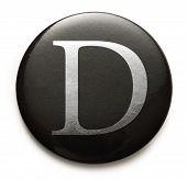 Latin Letter D