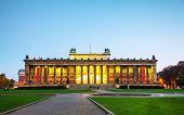 Altes Museum Building In Berlin, Germany