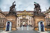Entrance To The Prague Castle