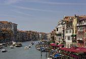 Venice View From Ponte Di Rialto