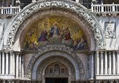 St. Mark's Basilica, Entrance Fresco