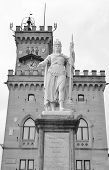 The Town Hall In San Marino