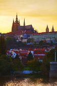 Old Prague Cityscape
