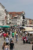 People Walking On Riva Degli Schiavoni