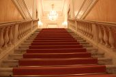 La Fenice Theatre, Interior. Detail Of The Stair