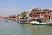 Tyical View Of The Little Island Of Murano