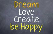 Dream love create