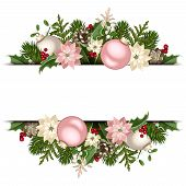 Christmas banner. Vector eps-10.