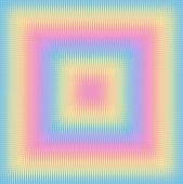 An abstract square and line pattern in pastel colors