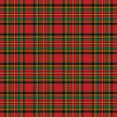 picture of tartan plaid  - Seamless background with red scottish tartan pattern - JPG