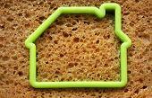 Slice Of Bread In House