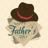 pic of special day  - Happy fathers day card design - JPG