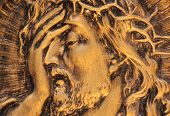 image of jesus  - Jesus Christ crown of thorns at  - JPG