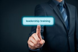 picture of leadership  - Leadership training concept  - JPG