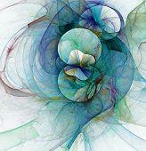 Fundo abstrato fractal