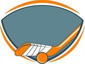 logo for ball or field hockey